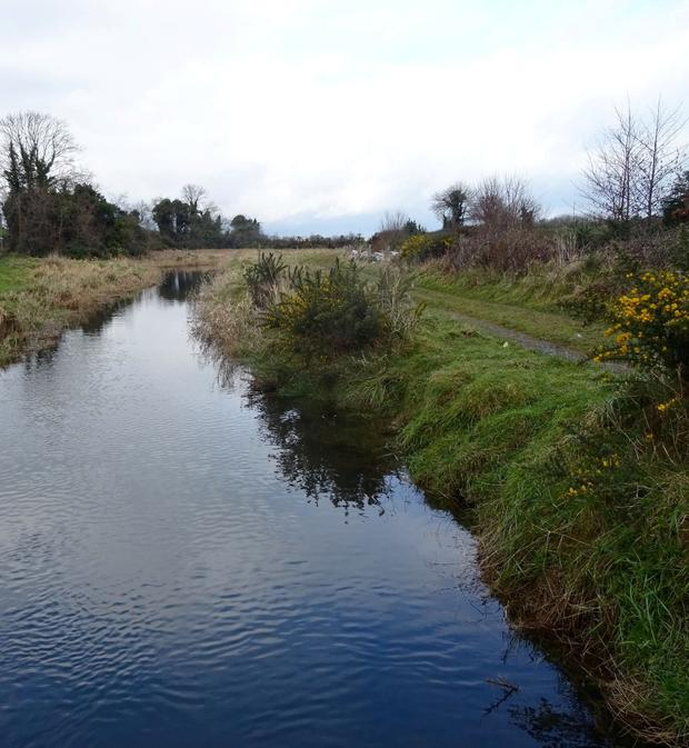 The Slaney River outside Downpatrick where St Patrick is said to have made his first landing returning to Ireland to bring Christianity. Image by Ken Johnston