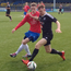 Action from Ards' Intermediate Cup quarter-final victory over Larne