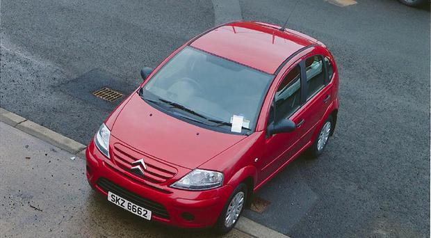 Citroen Car police believe was used by those planting the device at 21.