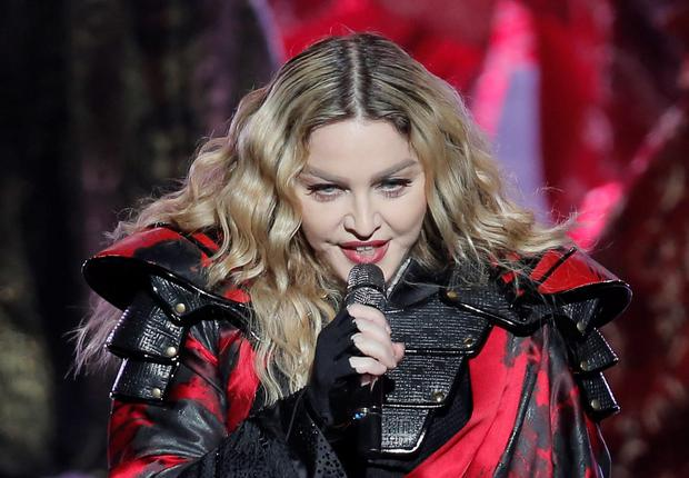 Madonna performs during the Rebel Heart World Tour in Macau, China