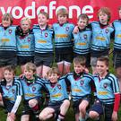 Final chance: Paddy Beverland (top, third from right), Jack Howard (top, second from right), Jonny Haldane (bottom, fourth from right), Malcolm Corry (bottom, second from right) and Nicolai Koplewsky (bottom right) in the Belfast Harlequins mini-team in 2004