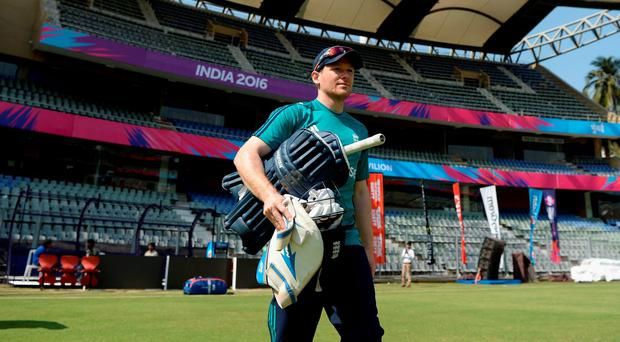 In the zone: Eoin Morgan is excited by England's new look