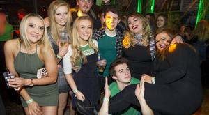 People out for St Paddy's Day at The Limelight for Sketchy. 17th March 2016. Picture by Liam McBurney/RAZORPIX