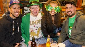 People out for St Paddy's Day at The Duke of York. 17th March 2016. Picture by Liam McBurney/RAZORPIX