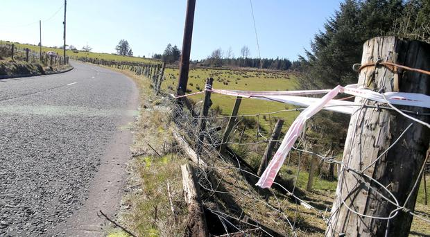 A 31-year-old male motorcyclist has died in hospital following a collision on the Glenariffe Road, Waterfoot Co Antrim. PICTURE: STEVEN MCAULEY/MCAULEY MULTIMEDIA