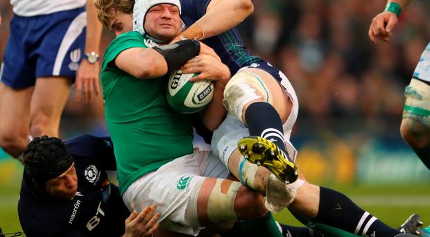 Looking ahead: Ireland captain Rory Best wants to help Ulster in the PRO12 before the three-Test tour to South Africa
