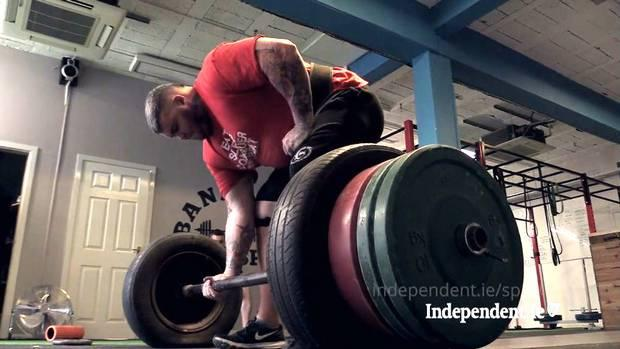 Sean O'Hagan from Banbridge, Co Down, is Ireland's strongest man
