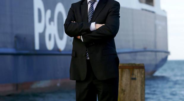 P&O Ferries Irish Sea sector director Neal Mernock