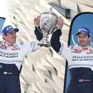 Rallying call: Circuit of Ireland Rally winners Craig Breen and Scott Martin (left) are back to defend their title