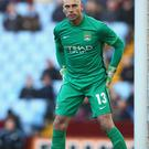 Forced into action: Willy Caballero