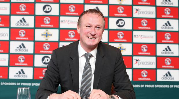 Catching the eye: Michael O'Neill will have his admirers