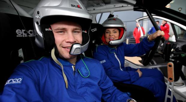 Carl and his wife Christine were special guests at the Circuit of Ireland Rally's Test Day.