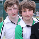 Twin role: Harry and Matthew Morris have a strong pedigree