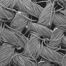Even in this image of cotton textile magnified 2,300 times, the nanostructures are still invisible RMIT University