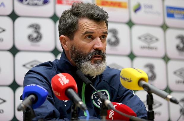 Republic of Ireland legend Roy Keane is enjoying his brief with Martin O'Neill