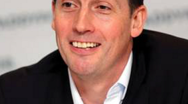 Former chief executive Andy McCue