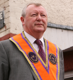 Grand Secretary of the Grand Orange Lodge Drew Nelson