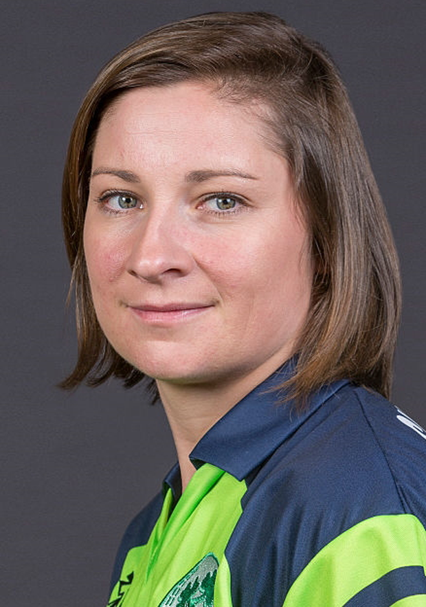 In vain: Claire Shillington hit 34 runs but Ireland lost out