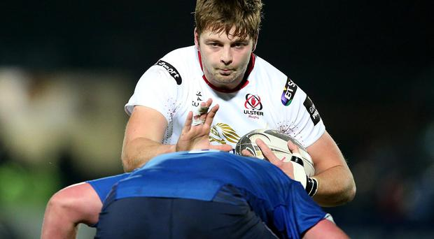 Surging back: Iain Henderson returns to the Ulster team for the first time in four months after overcoming a hamstring injury