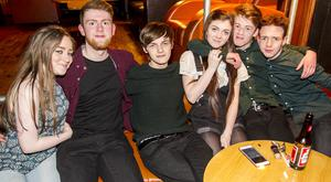 People out at the QUB Student Union Speakeasy. Thursday 24thMarch 2016. Picture by Liam McBurney/RAZORPIX