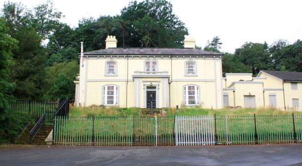 Fernhill House, the venue for the 1994 loyalist ceasefire announcement, which is among 33 new listed buildings in Belfast. PA
