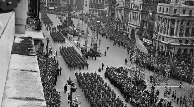 On the march: the 1916 rebellion's 50th anniversary was marked in 1966 and gave rise to a revival in republicanism
