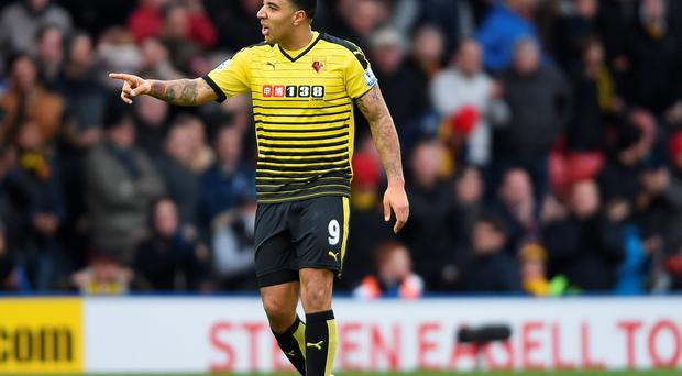 Euro move: Troy Deeney says he is in talks with Northern Ireland