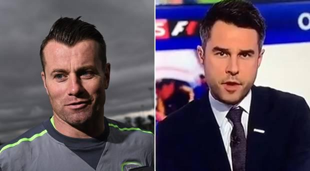 'Shay Given' was given time on Sky Sports to discuss the injury to Jack Butland. It was not the Republic of Ireland and Stoke keeper.