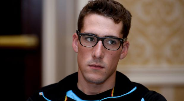 Belgian cyclist Daan Myngheer. Pic Getty Images