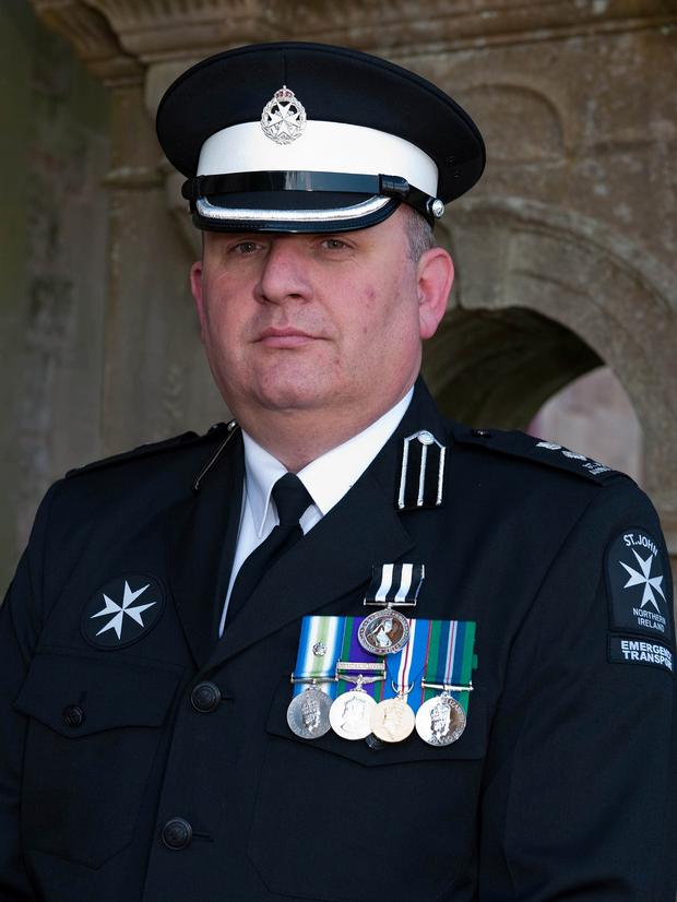 Prison officer Adrian Ismay