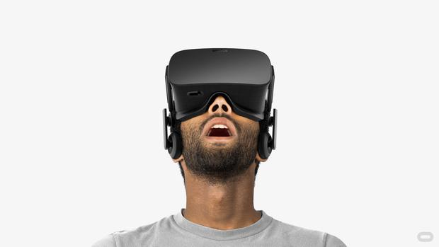 Oculus Rift is a virtual reality headset by Oculus VR