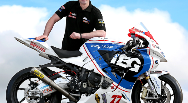 Raring to go: Ryan Farquhar can't wait to take on the Mid Antrim 150, where he has flourished in the past