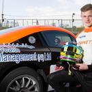 Dan on a mission: Daniel Harper gets set for Brands Hatch debut