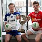 Up for the Cup: Monaghan's Kevin Loughran and Cathal McShane of Tyrone will battle for the Ulster U21 crown