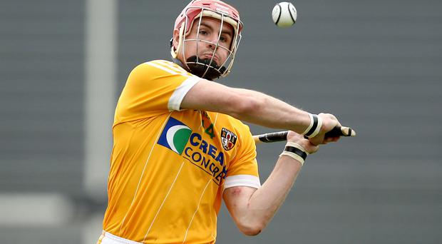 Gone: Liam Watson has left the Antrim hurling squad