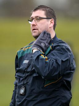 Stepping down: Antrim hurling manager PJ O'Mullan has cited personal circumstances as his reason for quitting the role