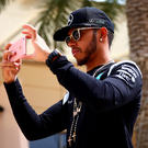In the picture: World champion Lewis Hamilton has had plenty to say about the future of Formula One racing