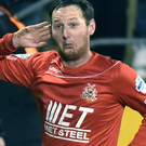 No deal: Gary Twigg will not be joining Ballymena United
