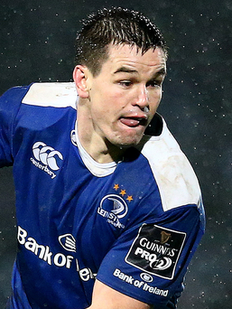 Back in harness: Johnny Sexton returns for Leinster