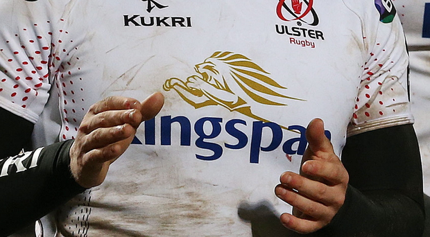Winning smile: Stuart Olding celebrates Ulster's crucial victory over Connacht