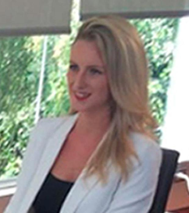 Michaella McCollum during her first interview release from prison in Peru