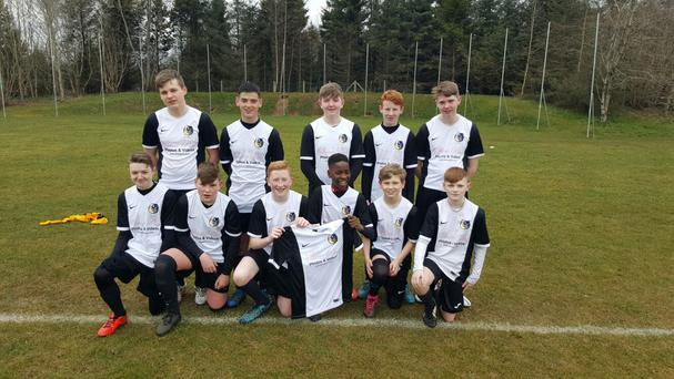 Harland Youth Under 15s in their new kit