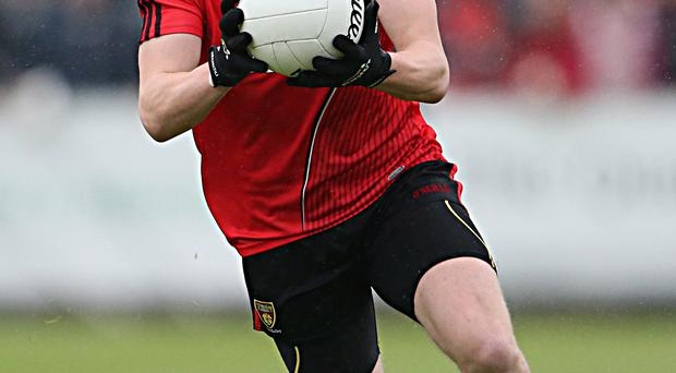Played well: Donal O'Hare was on form for Down