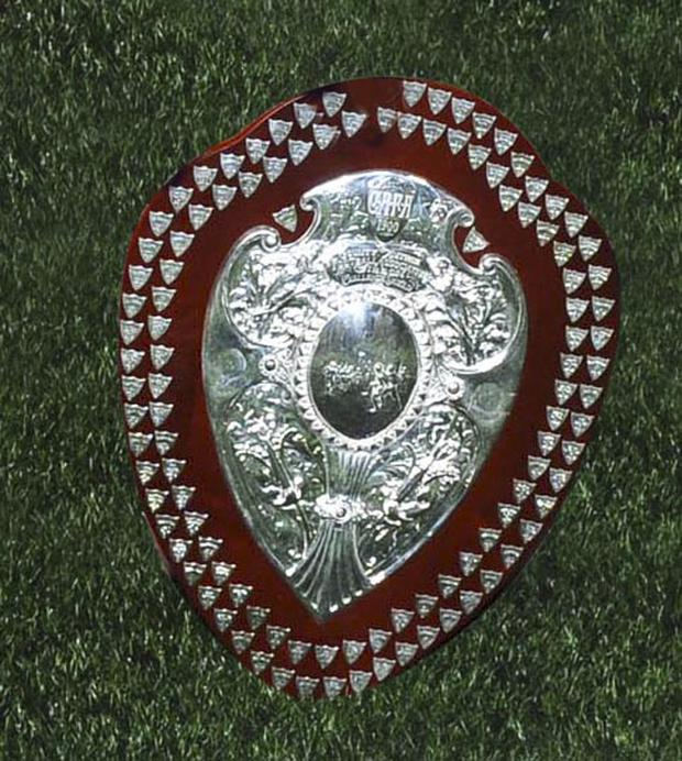 The one they're all playing for... the Co Antrim Junior Shield