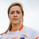 Key player: Caroline O'Hanlon starred for Armagh