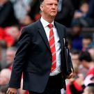 Thinking positive: Louis van Gaal