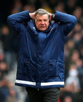 Divine intervention: Sam Allardyce admits Sunderland are in trouble