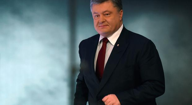 A populist Ukrainian party leader said on April 4, 2016 he would launch impeachment proceedings against President Petro Poroshenko over his use of offshore accounts revealed by the