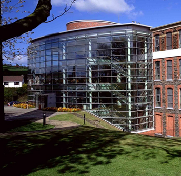 The former council premises at Mossley Mill on Carnmoney Road
