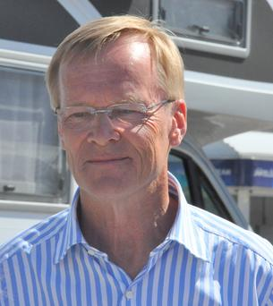 Vital service: Ari Vatanen was airlifted after a crash in 1985